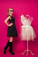 Милое платье из структурного трикотажа