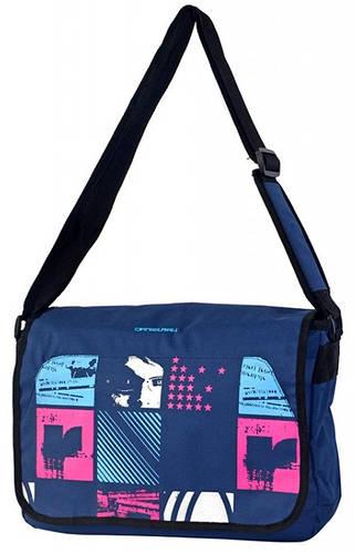 Молодежная оригинальная сумка Daniel Ray полиэстер 43,560710 голубая