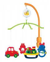 Детский мобиль Зверушки и транспорт