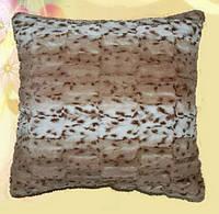 Декоративная меховая наволочка 45х45 MN070-2