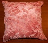Декоративная меховая наволочка 45х45 MN 080-4