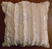 Декоративная меховая наволочка 45х45 MN 130-1