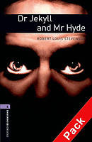 Книга для чтения Oxford Bookworms Library 4 Dr Jekyll and Mr Hyde + CD