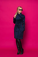 Ультрамодный демисезонный кардиган-пальто на пуговицах