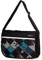 Молодежная чудесная сумка Daniel Ray полиэстер 43,566600 черная