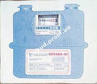 Газовый счетчик мембранный  Октава G6 (мелкая резьба)