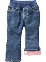 Детские теплые джинсы с флисовой подкладкой  Old Navy