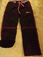Утепленные штаны на девочку