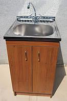 Мойка кухонная 50х60 с тумбой и краном (Комплект)
