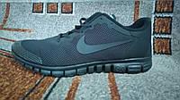 Мужские беговые кроссовки Nike free 3.0 черные