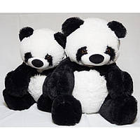 Плюшевая игрушка мишка - панда, размер - 65 см. Популярная игрушка. Красивая, милая игрушка. Код: КЕ448-1