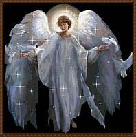 """Набор алмазной вышивки (мозаики) """"Ангел-Хранитель"""""""
