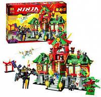 "Конструктор Bela Ninja (аналог Lego Ninjago) 9797 ""Битва за город"", 1223 дет."