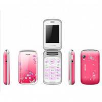 Телефон Nokia W888 Red раскладушка RED
