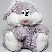 Мягкая игрушка сидячий зайчик, размер - 110см. Популярная игрушка. Красивая, милая, чудо-игрушка. Код: КЕ452-2