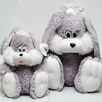 Мягкая игрушка сидячий зайчик, размер - 35 см. Популярная игрушка. Красивая, милая, чудо-игрушка. Код: КЕ452