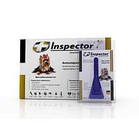 Inspector (Инспектор) капли против внешних и внутренних паразитов для собак до 4 кг (1 пипетка)
