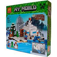 Конструктор Minecraft Lele 79145