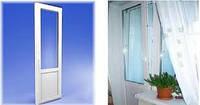 Межкомнатные двери металлопластиковые 700*2050