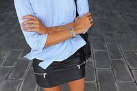 Женская юбка эко кожа