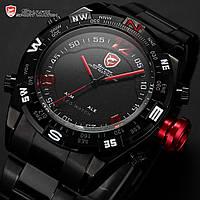 Часы Shark Digital Date LED Sport 3D Quartz Analog
