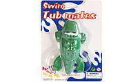 Игрушка для купания крокодил с заводным механизмом