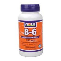 Витамин B-6 100 mg (100 caps)