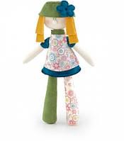 Игрушка мягкая Кукла в зеленом Trudi 33 см