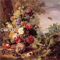 """Алмазная вышивка """"Натюрморт и цветы на природе"""""""