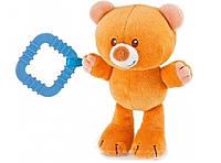 Мягкая игрушка с грызунком Медведь Тедди Trudi 14 см