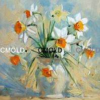 """Набор для алмазной мозаики """"Нарциссы в белой вазе"""""""