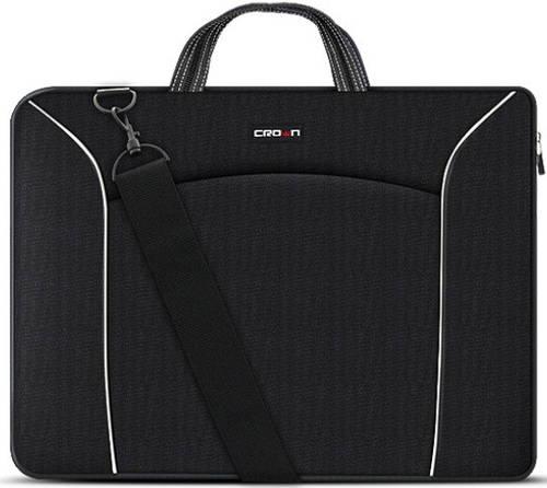 """Прочная сумка для ноутбука до 15,6"""" CROWN CMB-435 black, черный"""