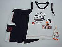 Майка шорты трикотажные для мальчика  1-4 года