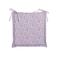 Подушка для стула Прованс Цветы лаванда 40х40см