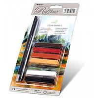 Набор для графических работ Marco карандаши + мелки