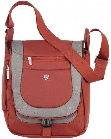 """Мужская прочная сумка с отделением для планшета 7""""-10"""" Sumdex PJA-645PR красный"""