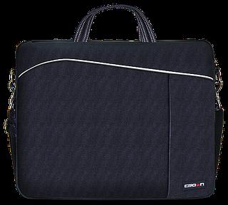 """Качественная сумка для ноутбука до 15,6"""" CROWN CMB-438 black , черный"""