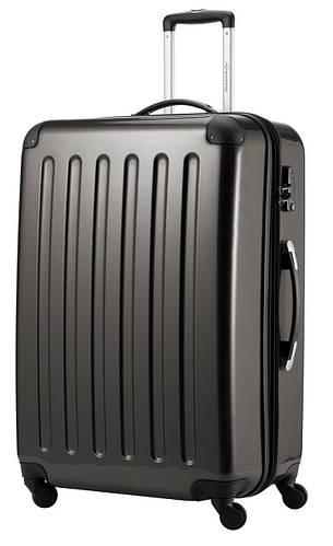 Замечательный 4-колесный семейный чемодан-гигант 130 л. HAUPTSTADTKOFFER alex maxi graphite