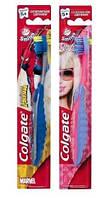 Зубная щетка Colgate Барби/Человек-пук для детей  5+ лет