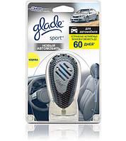 """Glade освежитель воздуха для дома и автомобиля """"Новый автомобиль"""" 61 г"""