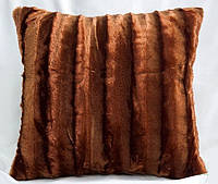 Декоративная меховая наволочка 45х45 MN 130-4