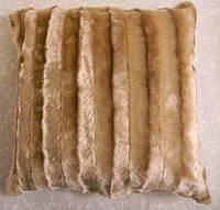 Декоративная меховая наволочка 45х45 MN 130-152