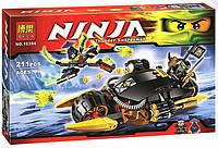 Конструктор Bela аналог LEGO Ninjago 211 деталей 10394