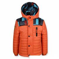 """Куртка """"Ferarry"""" (Оранжевая 3601) рз. 110-128"""