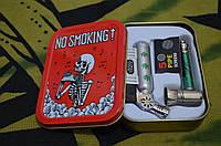 Набор для курения подарочный. Раста. Красный