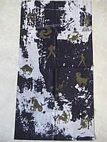 Летний бафф, buff, бесшовный шарф, повязка (#103)