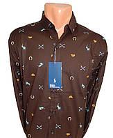 Мужская рубашка модная, фото 1