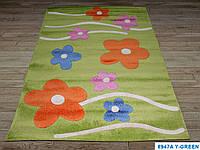 Детская ковровая дорожка Fulya 8947a GREEN