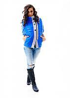 Женская стильная  куртка-жилетка