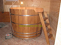 Купель круглая для бани и сауны 180х120см.